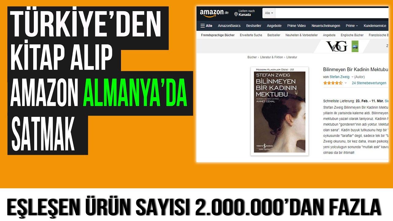 Türkiye'den Alıp Amazon Almanya'da Kitap Satmak
